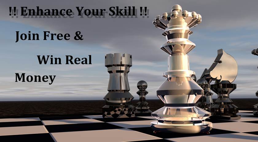 Join Chess tournament and win real cash prices